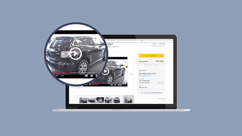 How to add videos to your vehicle listings inside Motorcentral