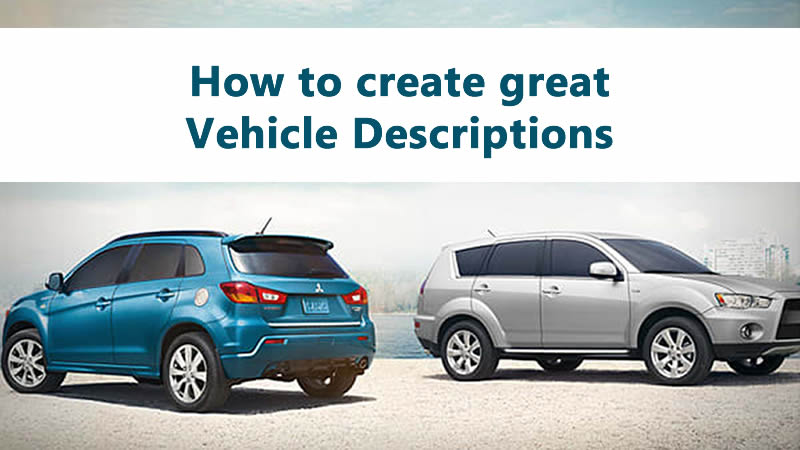 creating the perfect vehicle listing
